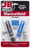 JB-Weld Marinepakket, 5x 2-componenten koudlasmiddelen voor in-, en om uw boot._