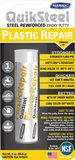 16502EU+, Quiksteel Steel kneedbaar Plastic incl. Flacon Quiksteel ontvetter, te gebruiken op alle materialen_