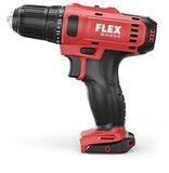 Flex DD 2G 10.8-LD, artikelnummer 450.561 + Laserafstandmeter ADM 30, artikelnummer 421.405._