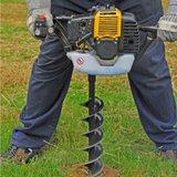 Lumag aanbieding! Eenmans grondboormachine EB520G _