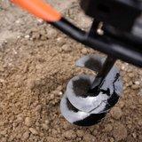 Krachtige 1-persoons grondboormachine max. diameter 300mm_