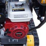 Lumag hydraulische rupsdumper type VH-500GX met Honda motor_