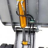 Lumag Hydraulische rupsdumper met Dieselmotor_