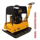 Lumag Diesel Trilplaat RPi38DE, electrisch gestart, vooruit en achteruitlopend_