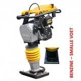 Lumag 4-takt, Benzine Trilstamper VS80SM met smalle voet_