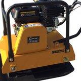 Lumag Benzine Trilplaat RP1400PRO compleet met wielenstel + Rubbermat_