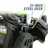 Actie2019-5, Greenworks 40 Volt accu grasmaaier GD40LM46SPK6 + Verticuteermachine incl. 6AH & lader_