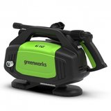 DEPA / Greenworks G10, zeer compacte 100-Bar, 230V Hogedruk reiniger _