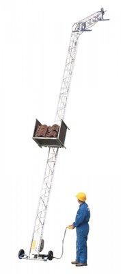 Apache, Little Jumbo Ladderlift, standaard hoogte 10.40-Mtr. 230V