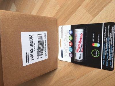 16502EU-6+, 6x Kneedbaar Plastic Incl. 3x grote flacon Quiksteel ontvetter! Voordeel-verpakking!