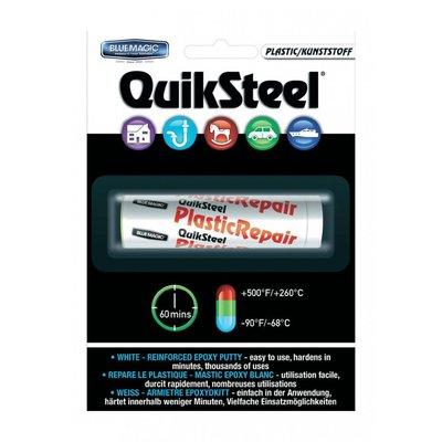 16502EU, Quiksteel Steel Repair Blisterkaart kneedbaar Plastic te gebruiken op alle materialen