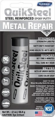 16002EU+, Quiksteel Steel kneedbaar staal Incl. Flacon Quiksteel speciaal ontvetter!