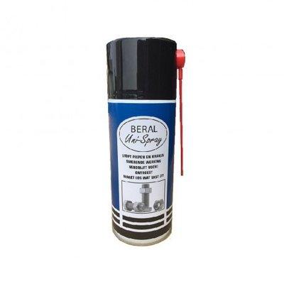 Beral Uni-Spray beschermt tegen corrosie, stopt piepen en kraken