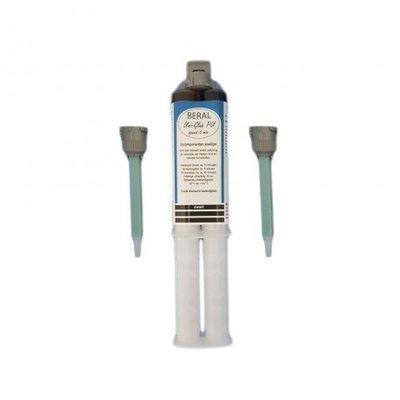 DEPA Uni-Glue PU speed zwart 5-min., 2-componenten snellijm