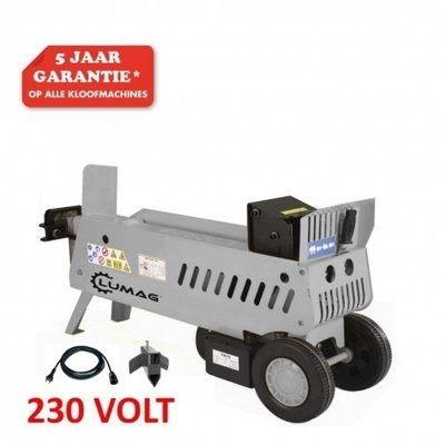 Lumag aanbiedings-set Hydraulische Houtklover 7-Ton incl. gratis accessoires