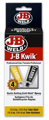 JB-Weld Industial size Kwikweld, art.nr: 8270, 2x141,8-Gr. sneldrogend 2-componenten koudlasmiddel