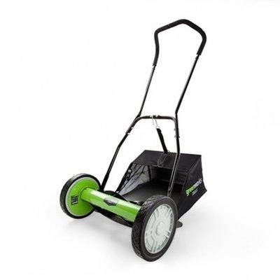 Greenworks 40-Cm handmaaier type nr: 25307