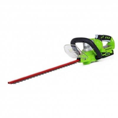 DEPA / Greenworks 24 Volt Accu Heggenschaar G24HT57, 57-Cm met draaibare greep