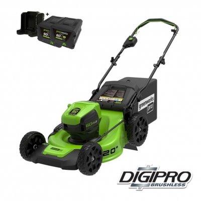 DEPA / Greenworks 60 Volt accu grasmaaier GD60LM51HPK2X, 51-cm incl. 2x 2AH Accu & Lader