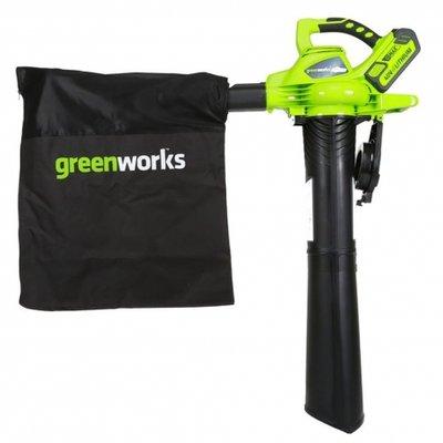 DEPA / Greenworks 40 Volt Accu Bladblazer en Zuiger GD40BV excl. Accu & Lader