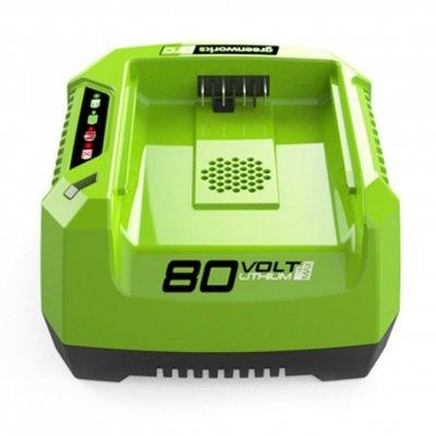 Greenworks 80 Volt accu snellader G80C