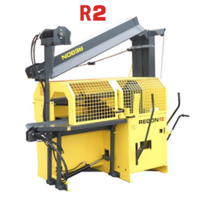 Hydraulische Hout Zaag-, Kloofmachine Regon R2 met Electrische motor
