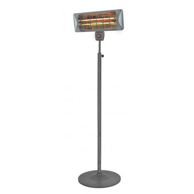 Eurom Q-time 2000S flame heater op standaard.