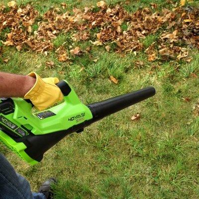 DEPA / Greenworks 40 Volt Accu Bladblazer G40AB, zonder Accu & Lader