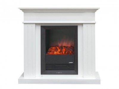Barcelona Fireplace sfeerhaard met ombouw, 3-standen 0 - 1.000W - 2.000-W staand model.