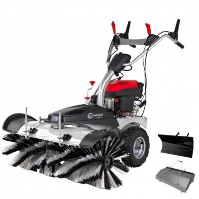 Lumag zware veegmachine en sneeuwruimer KM1000 1-Mtr. breed