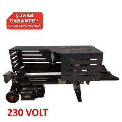 DEPA / Lumag houtkloofmachine HOS7N 230V, 7-Ton splijtkracht.