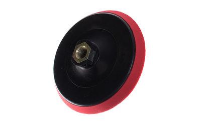 Depa Steun-pad soft 125-mm met klitteband opname met M-14 binnenschroefdraad