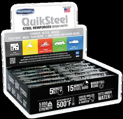 Quiksteel 6002EU, kneedbaar staal te gebruiken op alle metalen