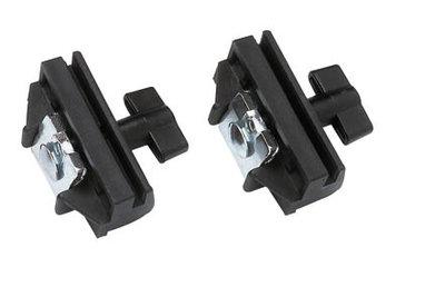 Mafell adapter-paar tbv koppelen machines aan een geleide-liniaal