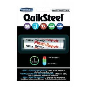 16502EU+, Quiksteel Steel kneedbaar Plastic incl. Flacon Quiksteel ontvetter, te gebruiken op alle materialen
