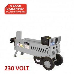 Hydraulische Houtkloofmachine type HOS-7A, 230V, 7-Ton splijtkracht.