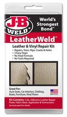 JB-Weld  LeatherWeld art.nr:2130, leer reparatie-set voor alle soorten leder