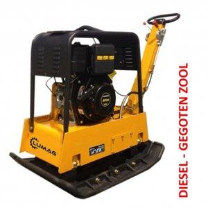 Lumag Diesel Trilplaat RPi38DE, electrisch gestart, vooruit en achteruitlopend