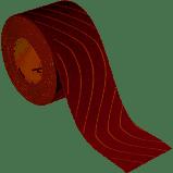 Super kwaliteit eindloze rol schuurpapier met stof-afvoer 95mmx25-Mtr K-180